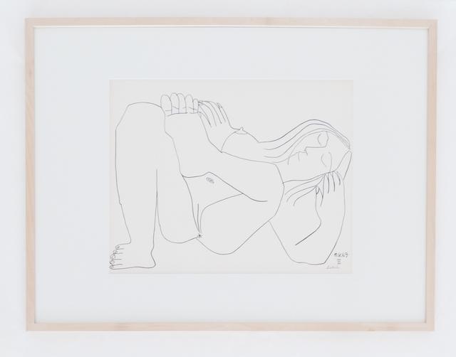 , 'Femme Nue I,' 1969, BASTIAN