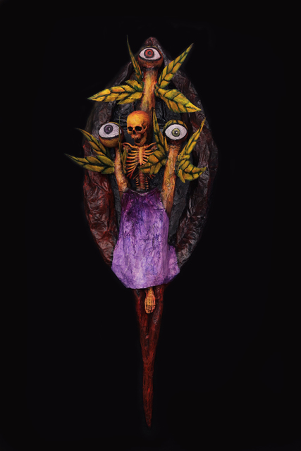 , 'The Goddess of Death With All Her Eyes That Sees All,' , Gregorio Escalante Gallery
