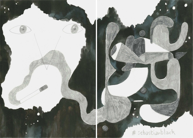 , 'La noche es nuestra (#sebastianblack),' 2018, Estrany - De La Mota