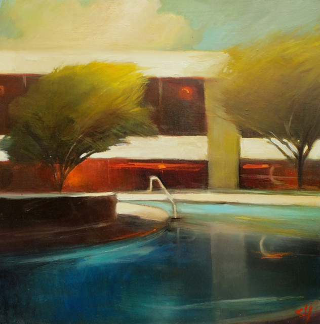 , 'Desert Pool,' 2013, Sue Greenwood Fine Art