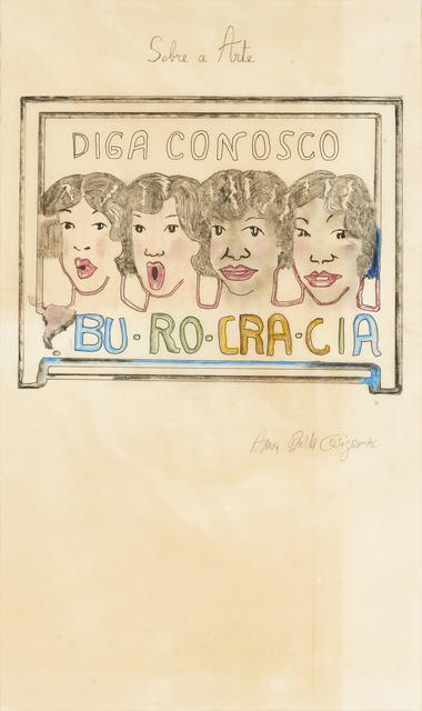 , 'Bu-Ro-Cra-Cia,' 1976, Henrique Faria Fine Art
