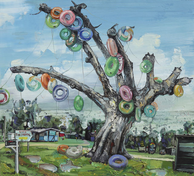 , 'Lowe's Tubes, Ichetucknee,' 2017, Arthur Roger Gallery