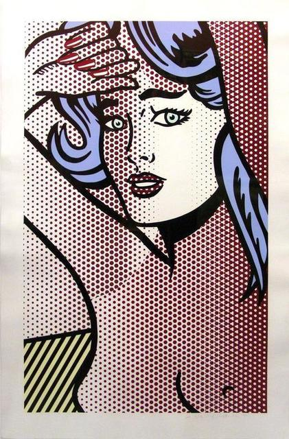 Roy Lichtenstein, 'Nude with Blue Hair (C.286) ', 1994 , Print, Relief Print in Colors, David Benrimon Fine Art