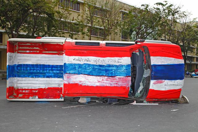 , 'Ratchadamnoen Motor Show # 1,' 2014, Yavuz Gallery