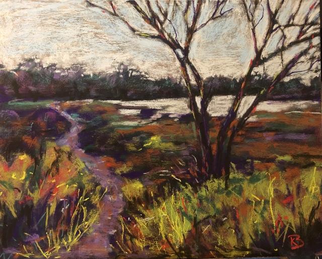 , 'Winter Stroll,' 2019, Tim Collom Gallery