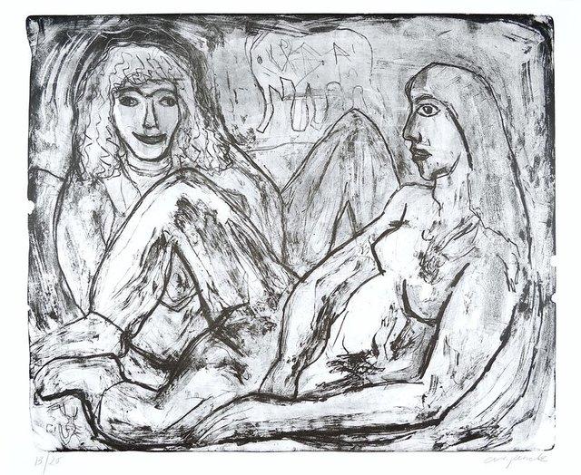 A.R. Penck, 'Two Woman (Zwei Frauen)', 1990-2000, ARTEDIO