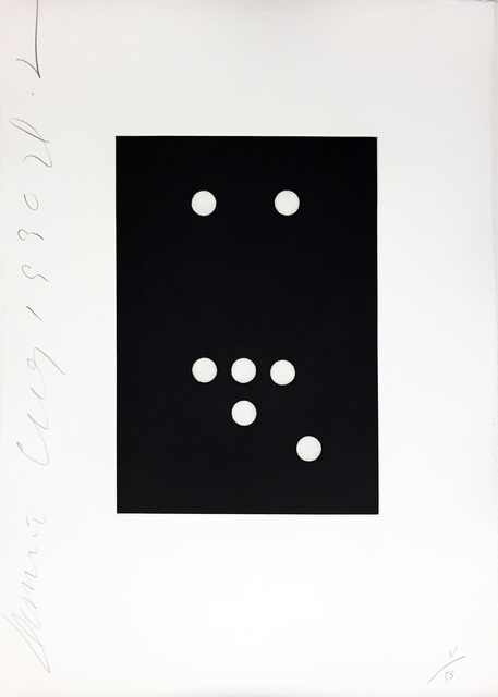 Donald Sultan, 'Domino #18', 1990, Print, Aquatint, Soho Contemporary Art