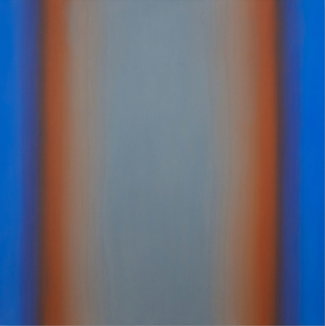 , 'Witness 2-S6060, (Blue Orange Gray), Witness Series,' 2016, Brian Gross Fine Art