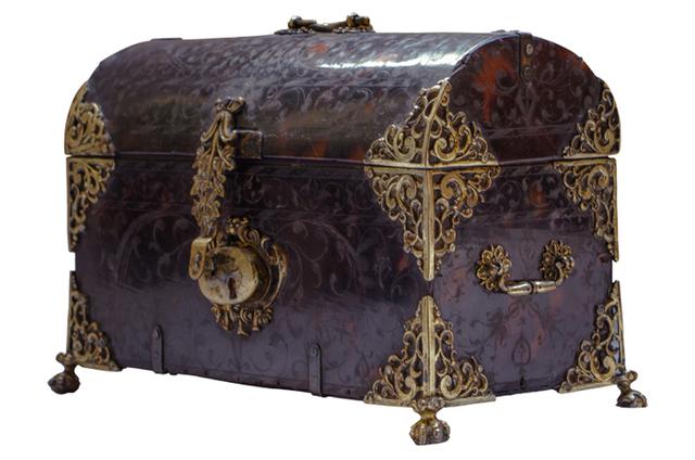 , 'Caja de Carey,' Siglo XVIII, Mario Uvence