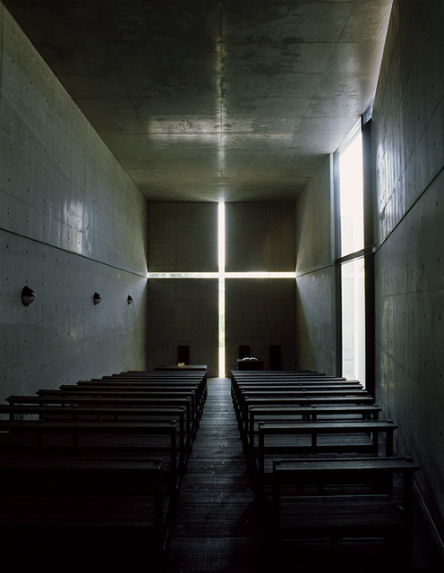 , 'Church of the Light (color 1500 A),' taken in 1989-printed in 2019, Akio Nagasawa Gallery
