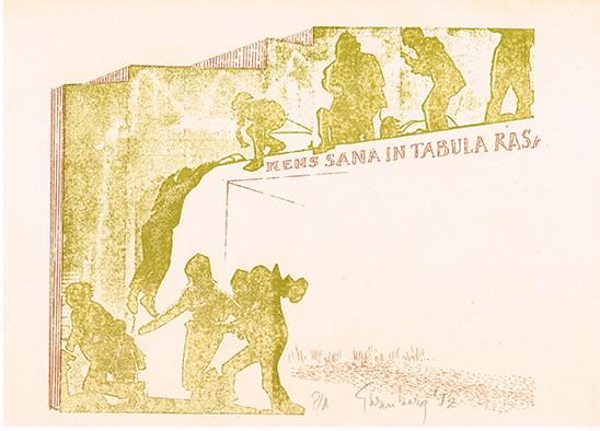 , 'Mens sana in tabula rasa,' 1972, Baró Galeria