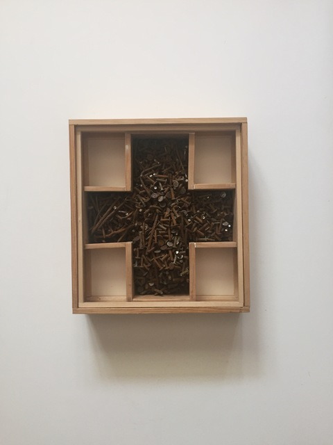 Chris Esposito, 'Form No. 19 (box of nails)', 2019, Amos Eno Gallery