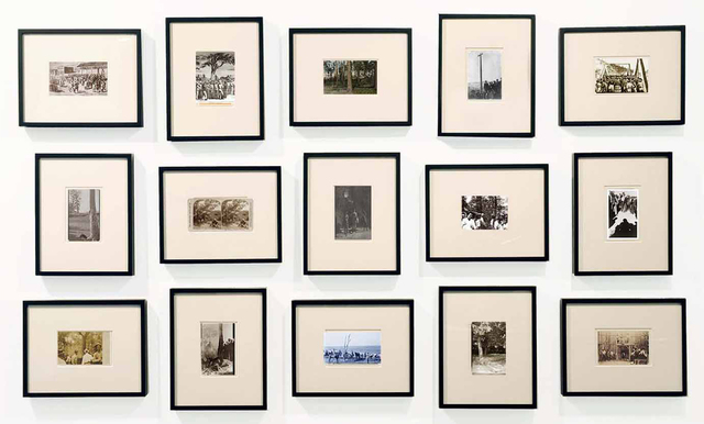, 'Erased Lynchings II (postcards),' 2017, Luis De Jesus Los Angeles