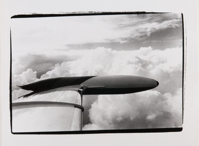 Andy Warhol, 'Andy Warhol, Photograph of the Wing of a Plane en Route to Aspen, 1980s', 1980s, Hedges Projects