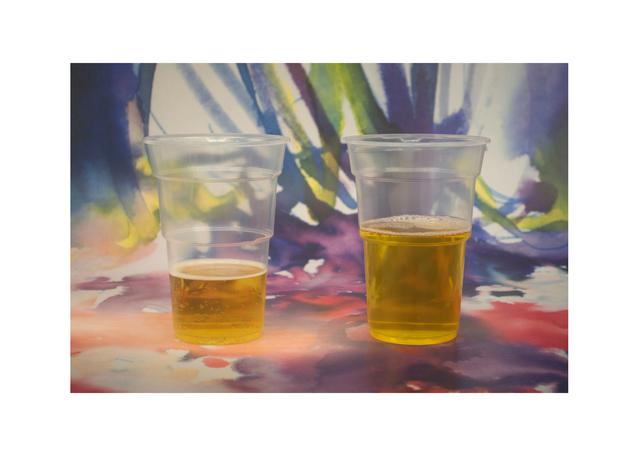 , 'Beer & piss,' 2012, Francesca Minini