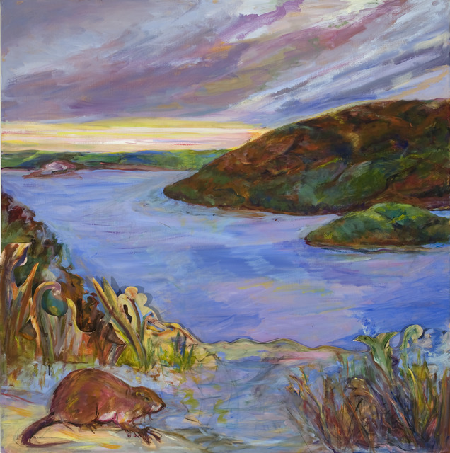 Diana Kurz, 'Hudson River with Muskrat', 2009, Anthony Horth Gallery