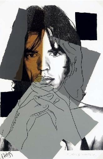Andy Warhol, 'Mick Jagger (F&S.II.147)', 1975, Robin Rile Fine Art