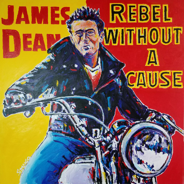 John Stango, 'James Dean ', 2018, Artist's Proof