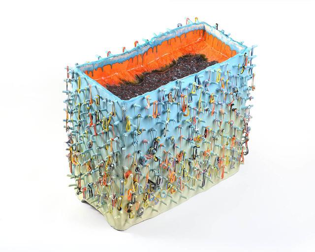 , 'Loopy Block,' 2018, Ferrin Contemporary