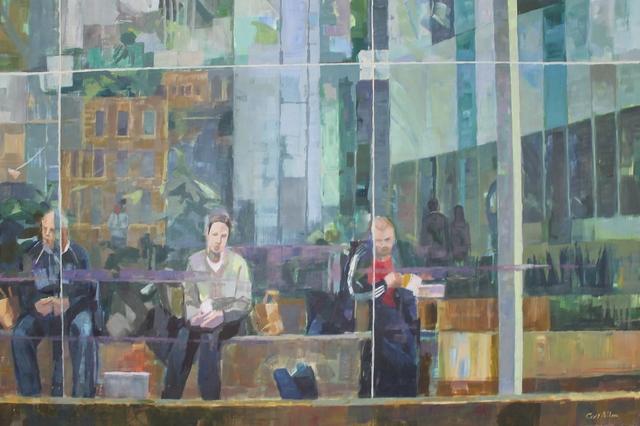 , 'Atrium,' 2018, Castlegate House Gallery