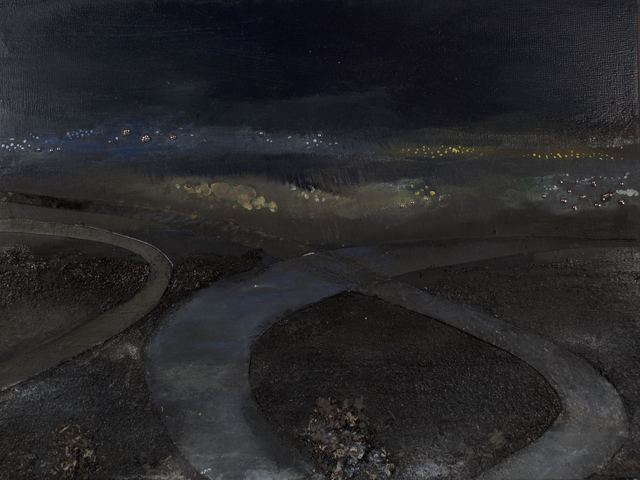 , 'Paths, Night shot,' 2017, Rosenfeld Gallery
