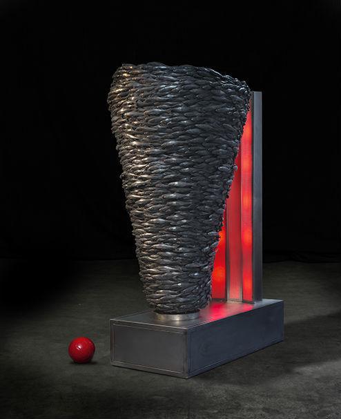 , 'Fish Kebab,' 2013, Mark Hachem Gallery