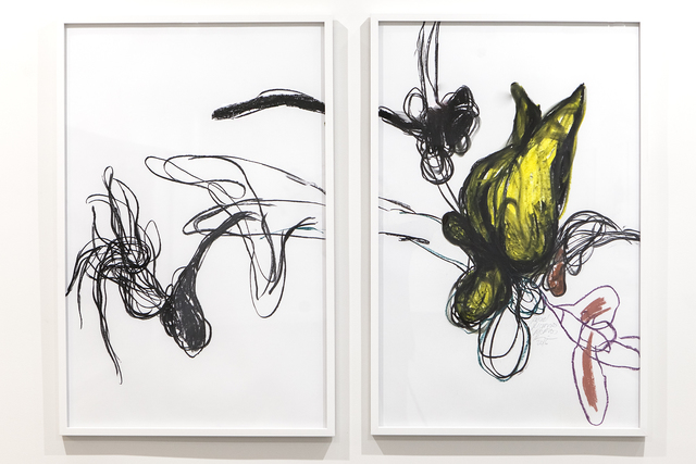 , 'Untitled (diptych),' 2016, Eric Buterbaugh Gallery