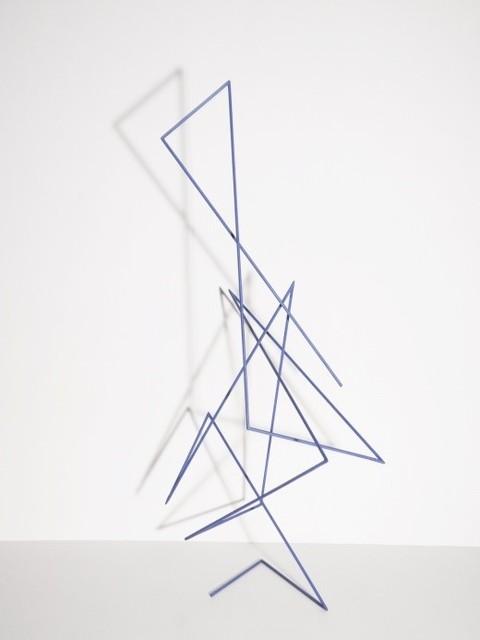 , 'Trait 52 bleu,' 2014, Galerie Marie-Robin