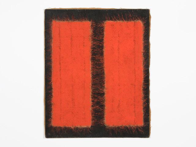 , 'Untitled (12) -- Rouge Noir Dialectique,' 1971, Patrick Parrish Gallery