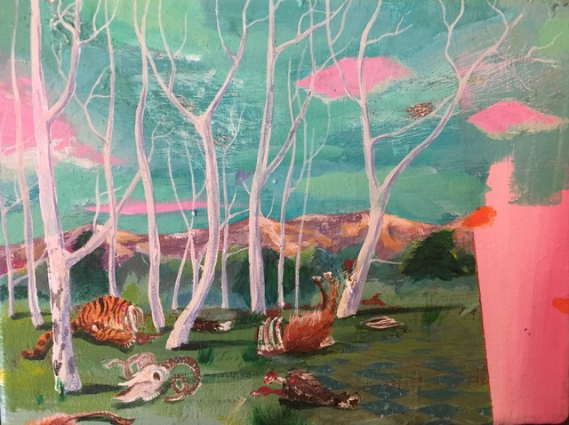 , 'Study for funhunt,' 2018, Nathalia Tsala Gallery