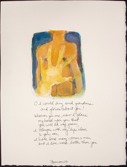 , 'O I could sing such...,' 2004, BlackBook Presents