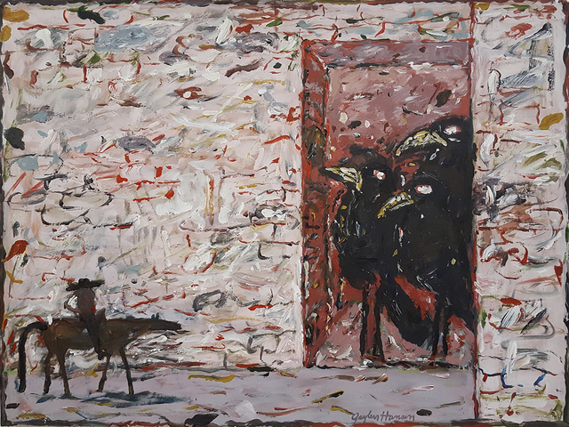 , 'Kernal Rides to Magpies,' 2003, Linda Hodges Gallery