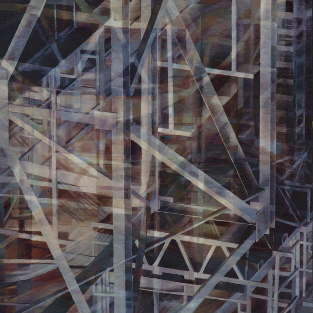 , 'Complex Construction,' 2014, Walter Wickiser Gallery