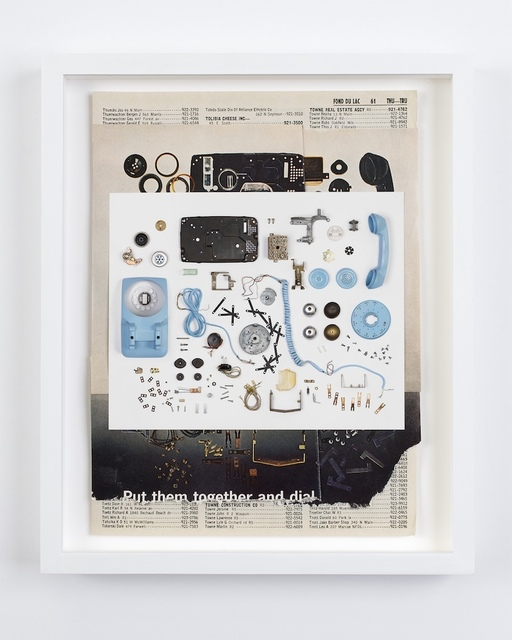 , 'Telephone Deconstruction #1,' 2015, Robert Morat