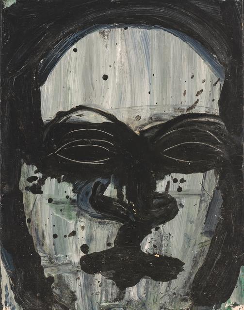 Lester Johnson, 'Head', 1962, Glenn Allen Art