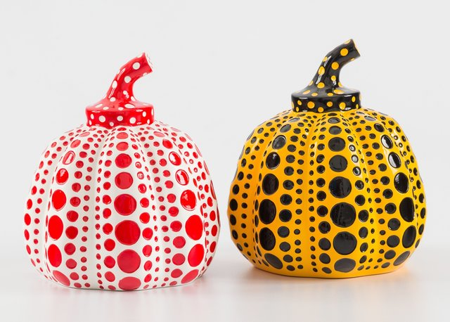 Yayoi Kusama, 'Red and Yellow Pumpkin (two works)', n.d., Heritage Auctions