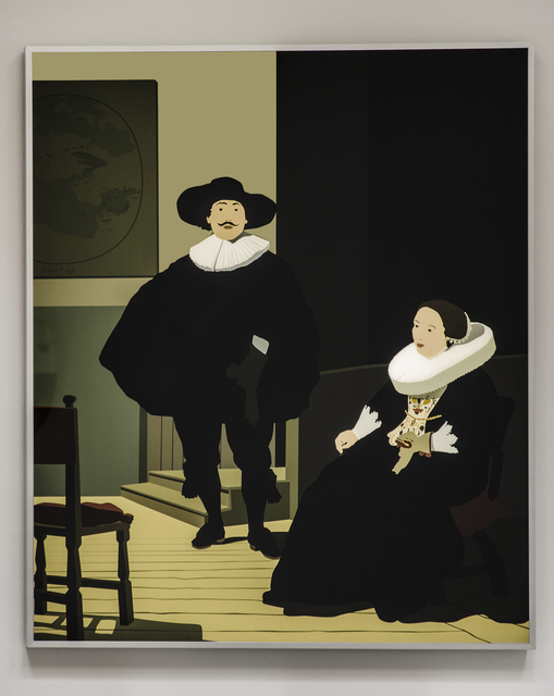 , 'A Lady and Gentleman in Black,' 2015, Christopher Grimes Gallery