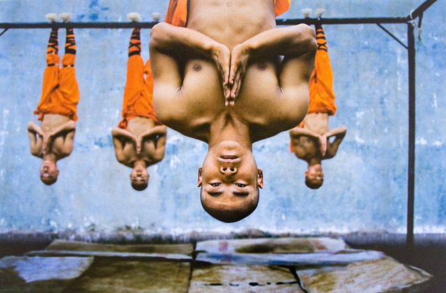 , 'Shaolin Monks Training, Zhengzhou, China,' 2004, Etherton Gallery