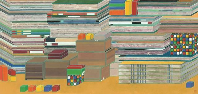 , 'Ordered  就位,' 2015, Galerie Ora-Ora