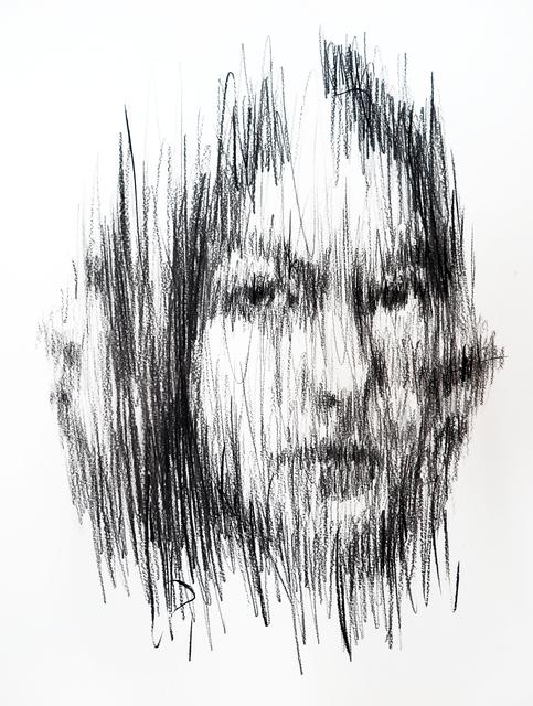, 'charcoal on cardboard,' 2018, A2Z Art Gallery