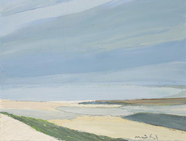 Roger Muhl, 'Sable Blanc', Painting, Oil on canvas, Doyle
