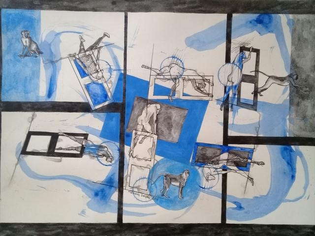 Mamady Seydi, 'Untitled 8', 2018, Galerie Galea