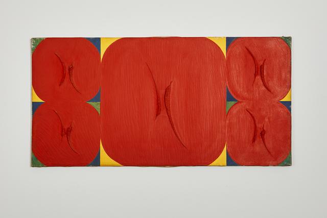 , 'Faccia rossa,' 1966, Ronchini Gallery
