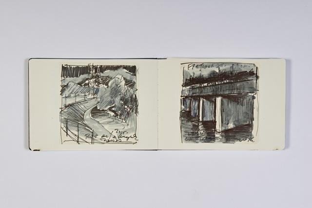 , 'L.A. River Sketchbook 1,' 2015, Abmeyer + Wood Fine Art