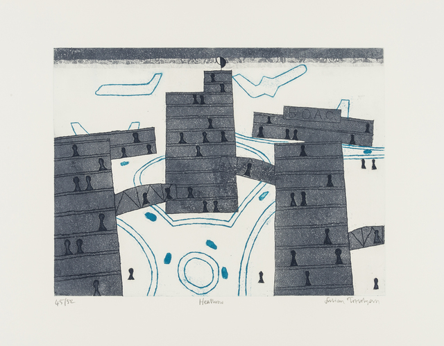 Julian Trevelyan, 'Heathrow', 1973, RAW Editions