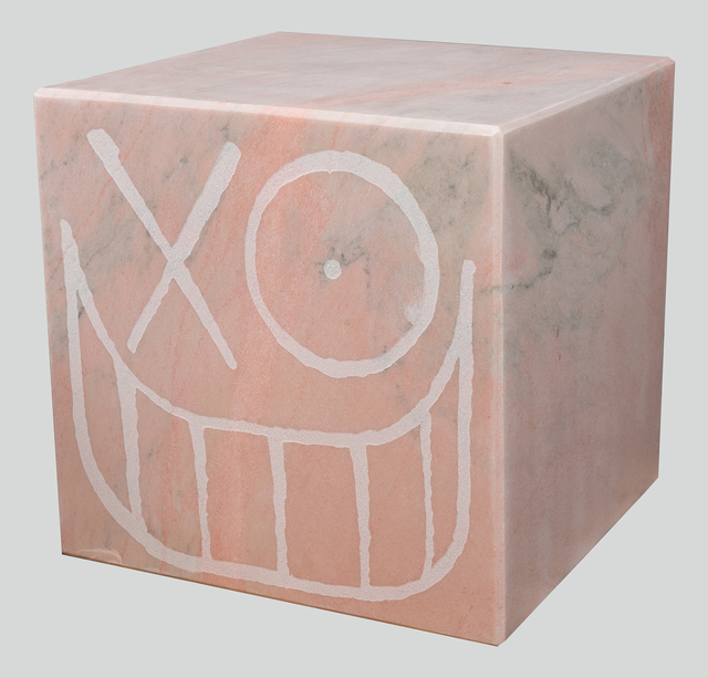 , 'Mr. A Pink Marble Cube 40 cm 1,' 2018, Underdogs Gallery
