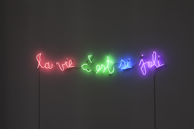 , 'La vie c'est si joli,' 2014, kamel mennour