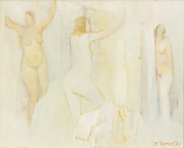 , 'Three Standing Nudes in White,' ca. 2016, Vail International Gallery