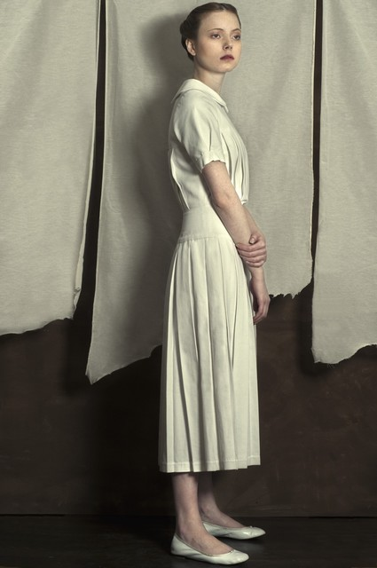 Romina Ressia, 'Woman wearing a white dress', Arusha Gallery
