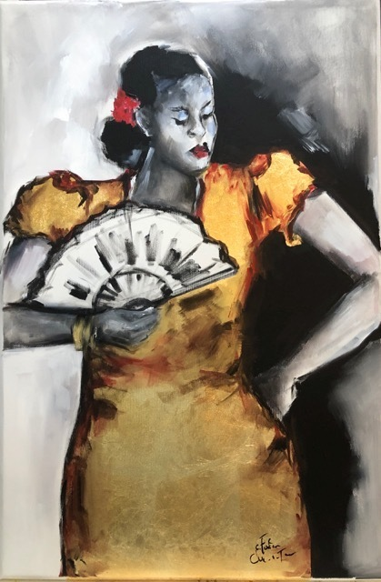 , 'Parang Singer,' 2019, Susan Mains Gallery